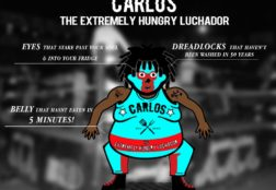 Carlos the Extremely Hungry Luchador (Animatable Puppet)